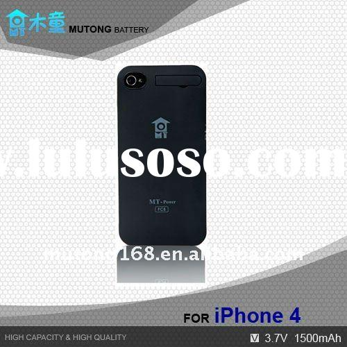 Hot Sale ! External Battery Power Pack Case For Iphone 4