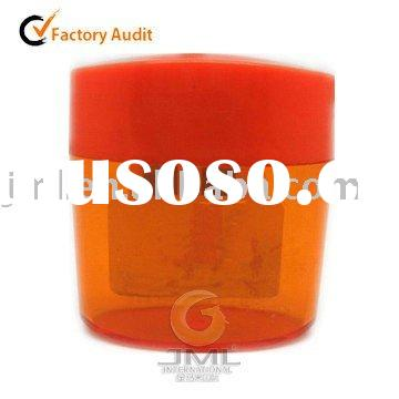 Hot Sale Plastic Orange Pencil Sharpener for promotion
