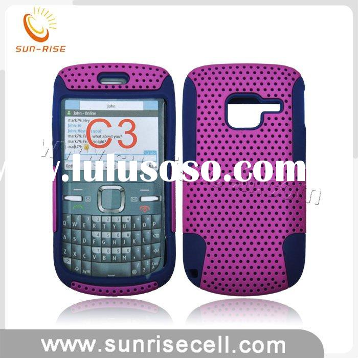 Hot selling For Nokia c3 Combo case