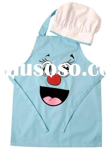Kids Cooking Apron and chef Hat/Cap