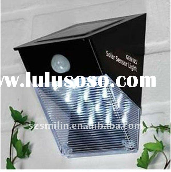 LED Security Light with move sensor with 16pcs LED lights and Solar-Motion Detection