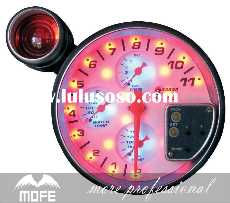 LED light 4in1 auto meter