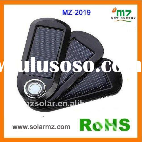 MZ-2019 Mini USB portable solar mobile phone charger for ipad ,iPhone, battery packs,mobilephone,cam