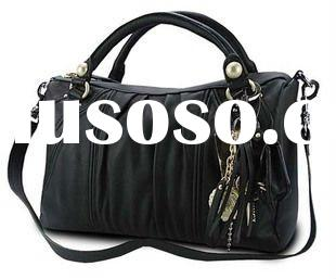 Manufacturer,2011newest design ladies hand bags with high quality and low price