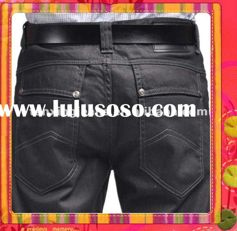 Mature Men's casual denim jeans