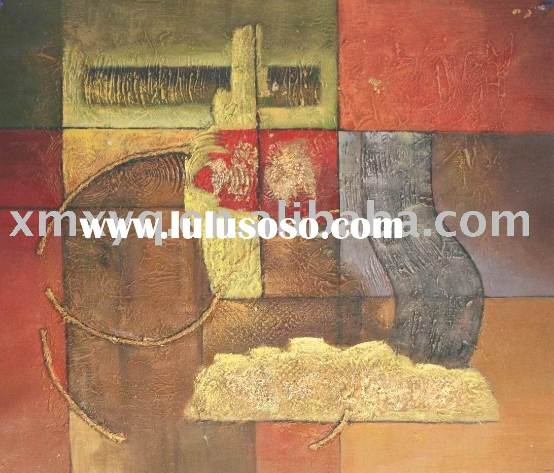 Metallic Texture Abstract Style Handmade Oil Painting XYQ-463