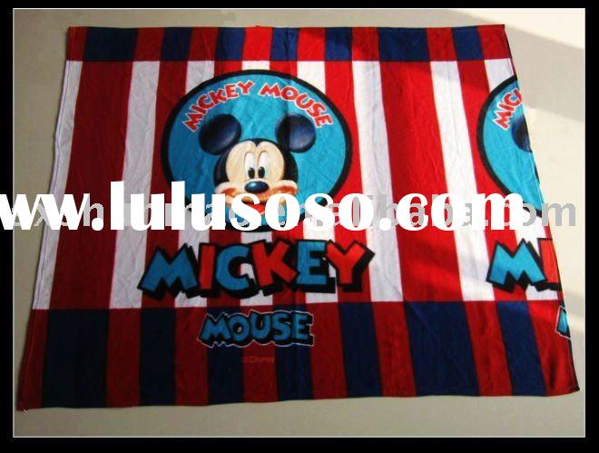 Mickey Mouse double-sided velvet blanket/coral fleece blanket