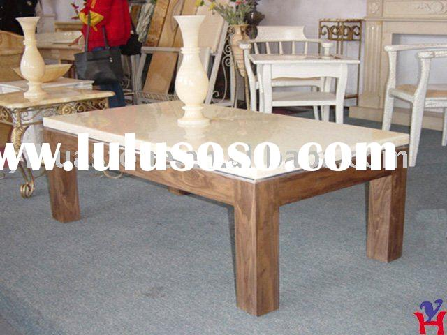 Natural Marble Top Coffee Table