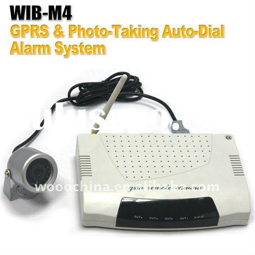 New Arrival GPRS & Auto-Dial Photo-Taking Alarm System Can Alarm