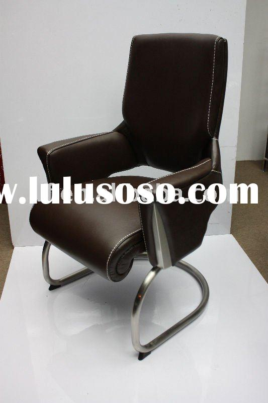New Design Office Leather Chair with Stainless Steel