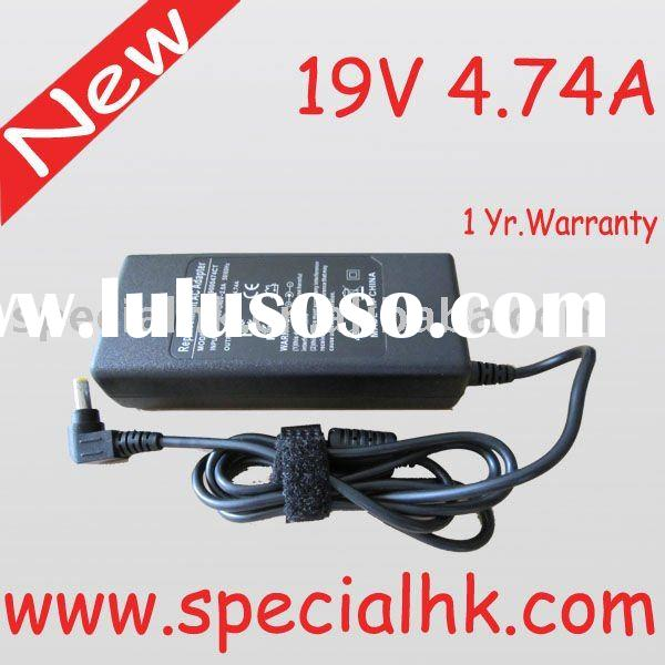 New OEM 19V 4.74A Replacement Laptop AC Adapter ROHS!