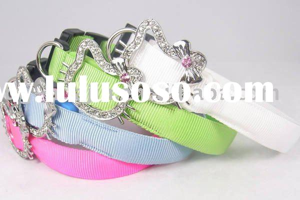New Pet Dog Cat LED Light Flashing Safety Nylon Collar Wholesale