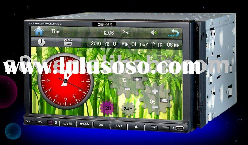 New design double din car dvd player GPSFM/TV/AV/USB/SD/DVD)