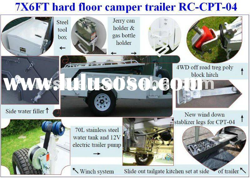 New heavy duty off road hard floor camper trailer/camping trailer