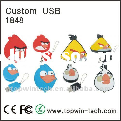 Novelty shape USB Flash Drive with customized logo