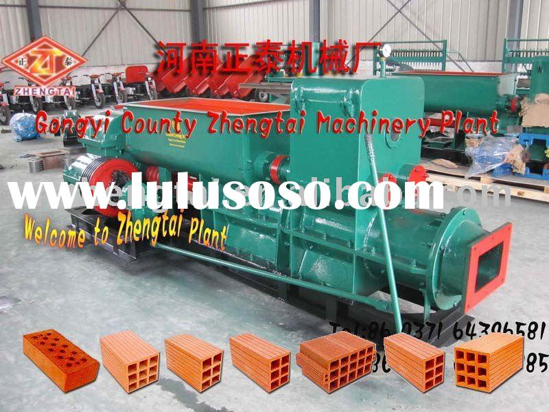 Novelty structure!!!automatic hollow brick machine/red brick production line/clay brick making plant