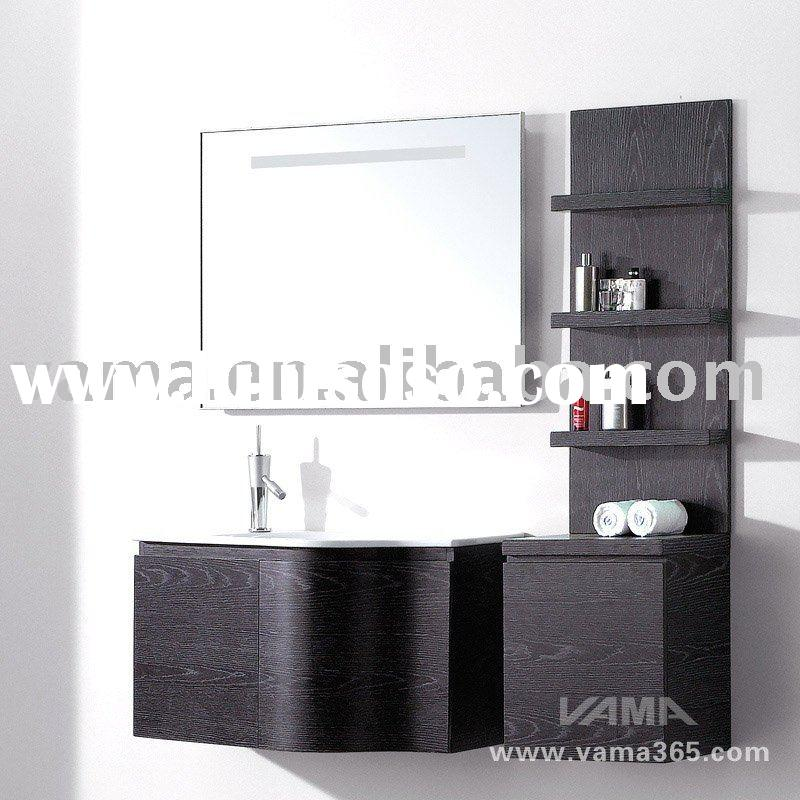 Offering New design Bathroom wall-mounted wooden cabinet/modern bathroom cabinet/vanity V-12063