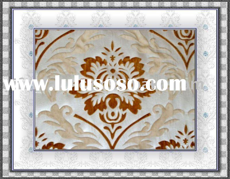 POLYESTER BRONZED VELVET FABRIC FOR SOFA