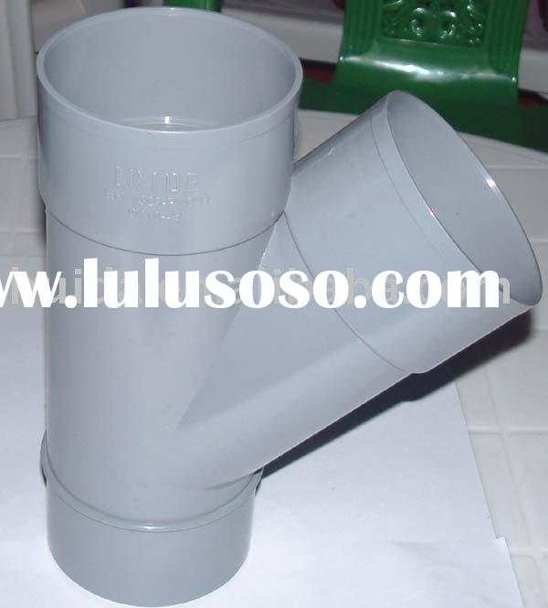 PVC pipe fitting mould Y Tee