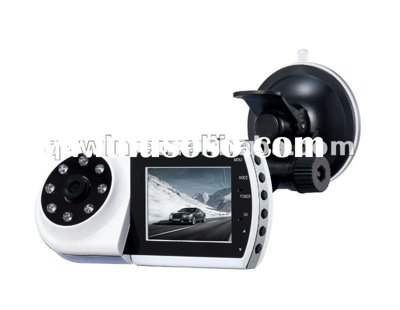 Patent Design New Arrive Real 720P HD Car Black Box/Car DVR/Car Recorder with 2.5''
