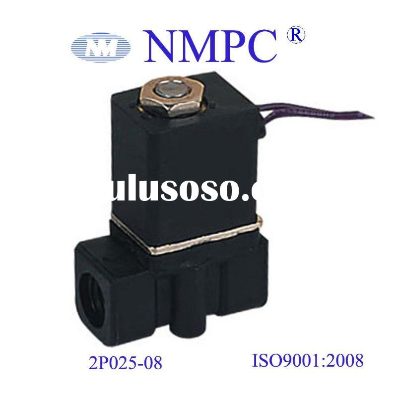 Plastic Solenoid Valve 2P025-08,06/ 2 way/12V,24V DC or 110V,220V AC/ water,air,gas,oil
