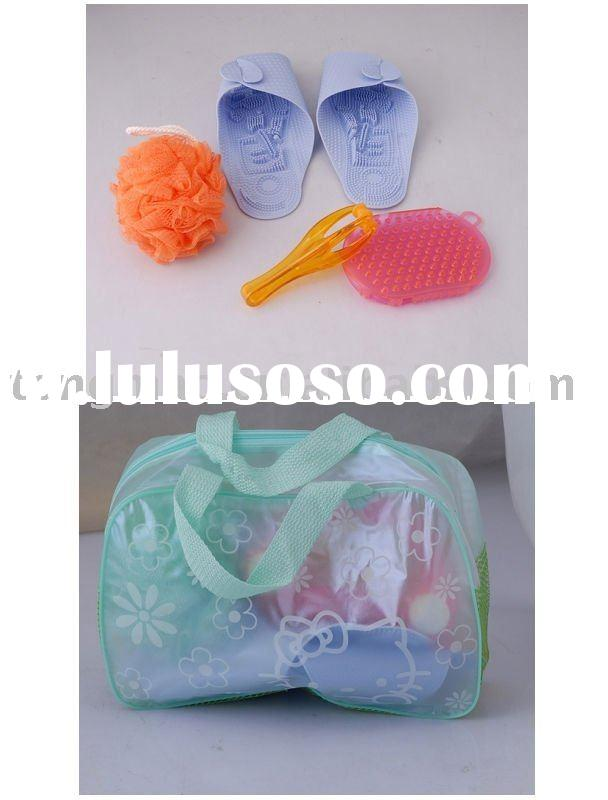 Plastic bath accessories
