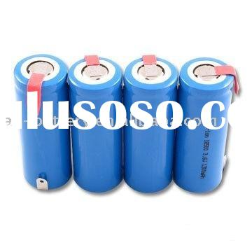 Polymer Li ion rechargeable battery pack