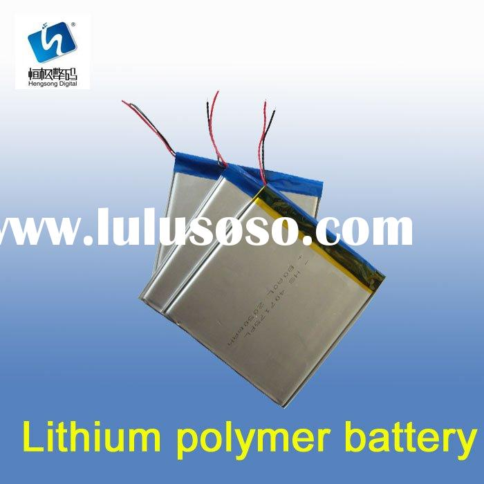 Polymer Lithium Rechargeable Battery Packs for Emergency Power Supply