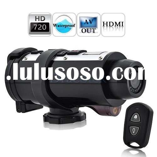 Poseidon - Waterproof 720P HD Sports Action Video Camera with Remote Control HT10