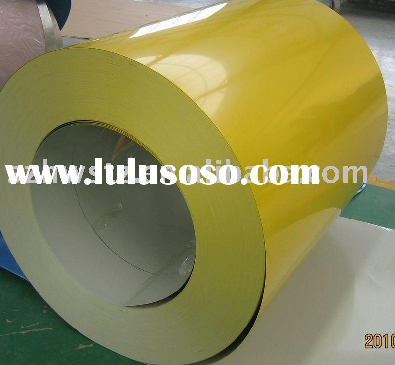 Pre-painted zinc steel sheet coils(PPGI)