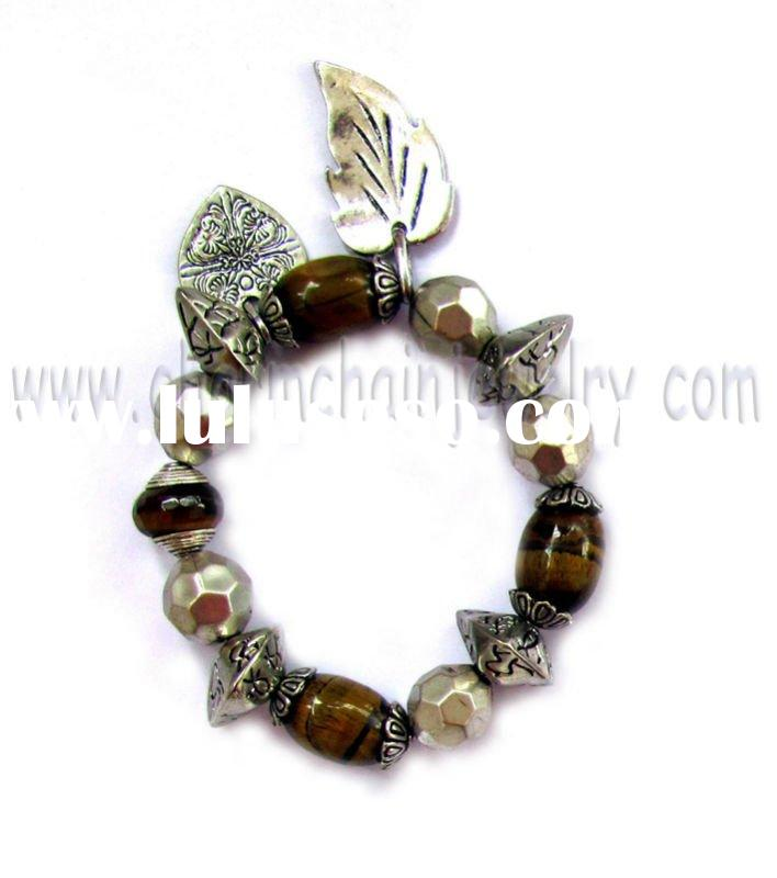 Precious Stone Ccb Beads Charm Fashion Jewelry Bracelet