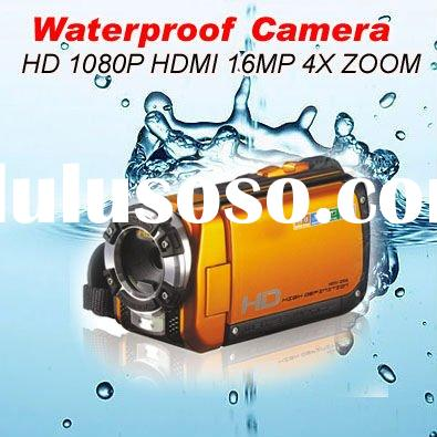 Professional Waterproof Digital Camcorder with 16MP and 3.0 inch TFT Screen High definition (DW-HD-A