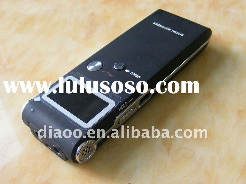 Professional and Digital Voice Recorder with MP3 player