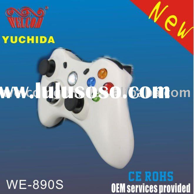 Programmable WE-890S wired USB dual vibration joystick,double shock gamepad,PC mini joypad,game cont