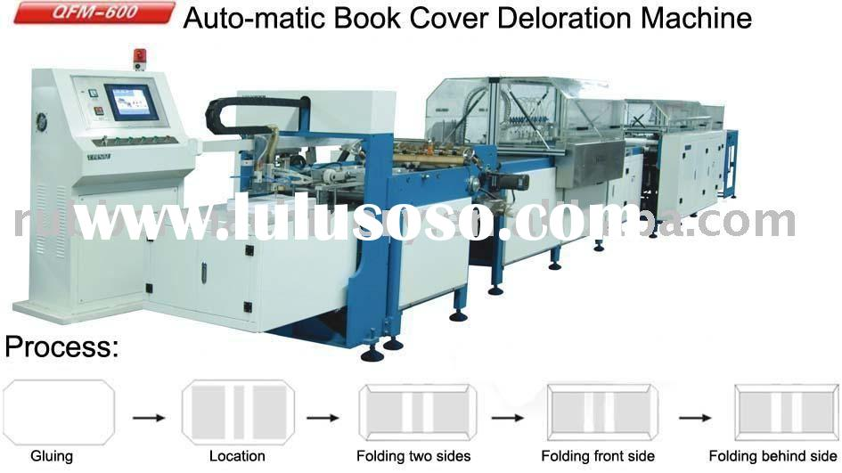 QFM-460/600 Automatic Book Cover Decoration Machine