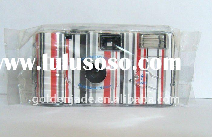 Quicksnap colorful case 35mm film plastic camera disposable pre-load film and battery