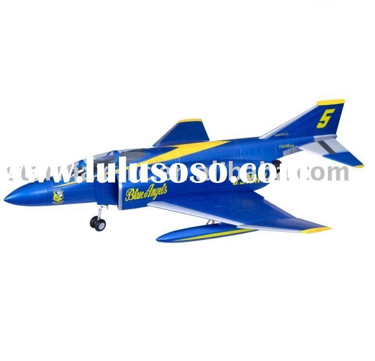 RC Hobby Plane F4 Phantom Blue Angels with 90 mm duct and retract