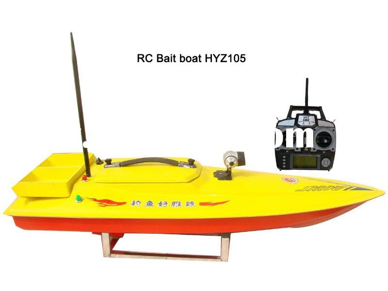RC bait boat for fishing