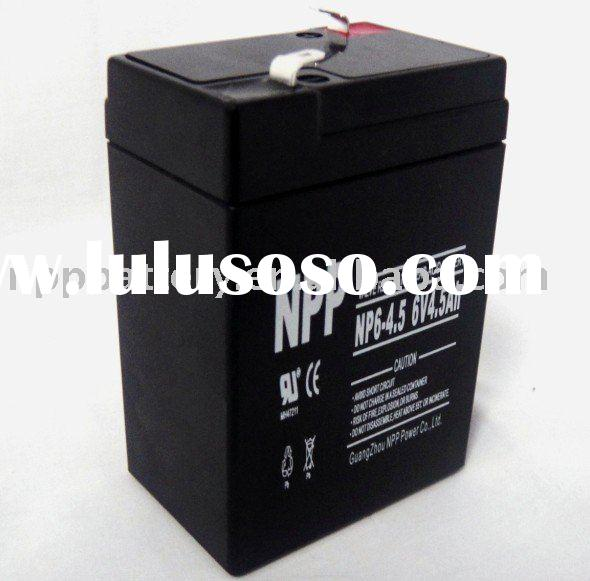 Rechargeable battery 6V 4.5Ah