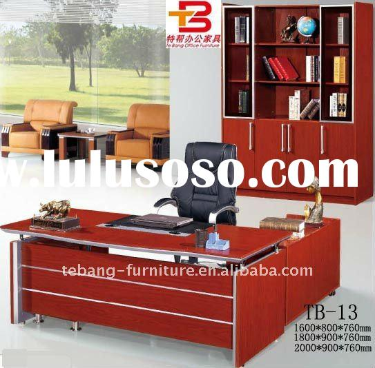 Red cherry office furniture,Executive Desk TB-13