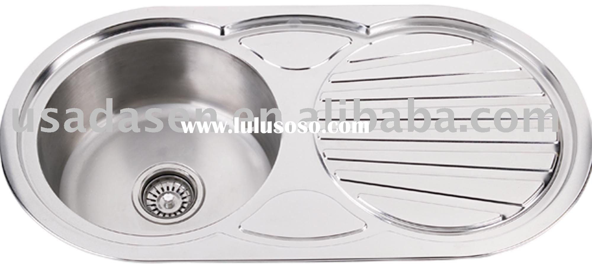 Round Sink With Drain board DS 8545A