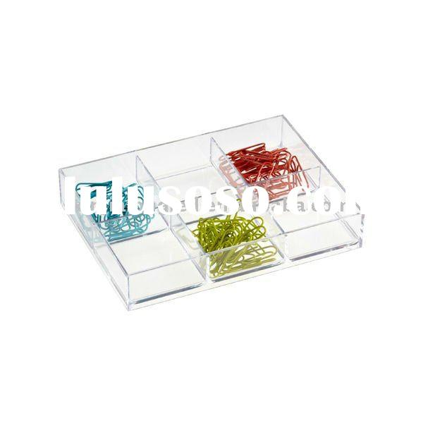 Sectioned Acrylic Drawer Dividers or Acrylic Storage Tray