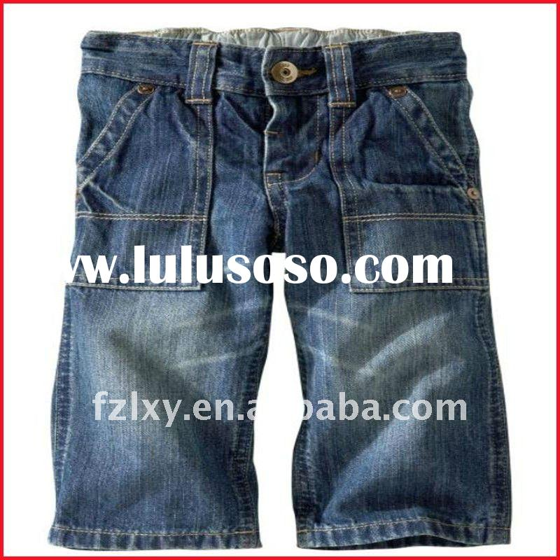 Sell Fashionable boys blue short jeans