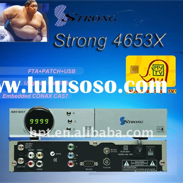 Sell Support FTA,PATCH DVB-S set top box Strong 4653x