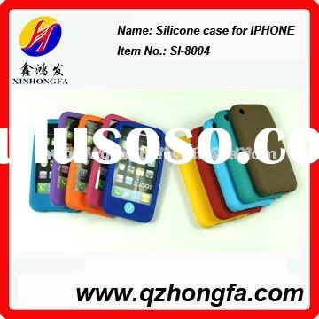 Silicone case for iphone/silicone card case/silicone cupcake case