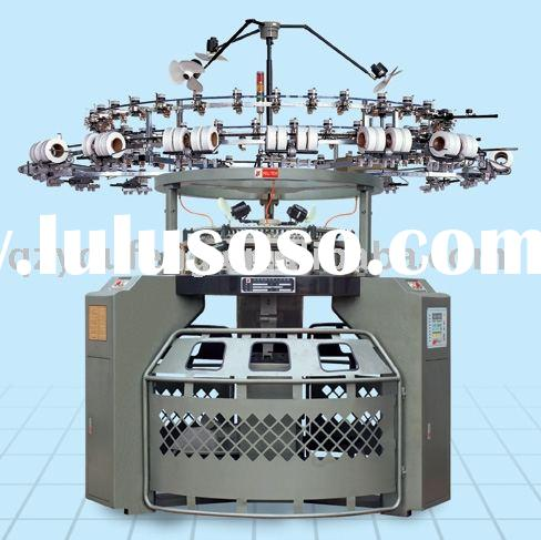 Single Jersey Circular Knitting Machine with Lycra attachment