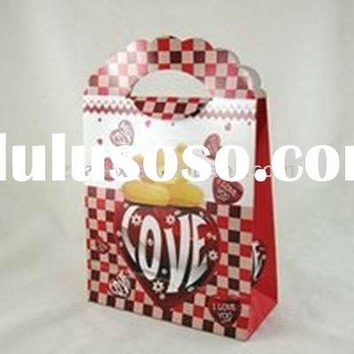 Small Wedding printing paper candy bags