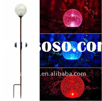 Solar LED Garden Light (Glass ball )