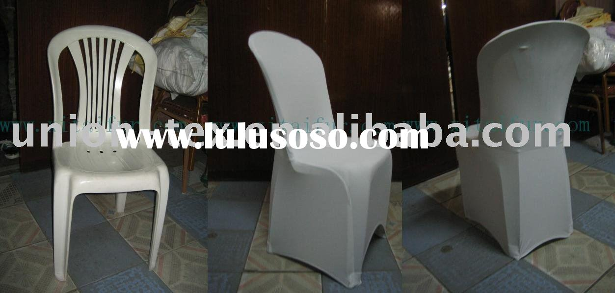 Spandex Chair Covers For Plastic Chair (WU-1061306)