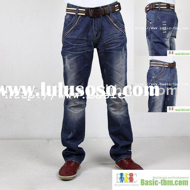 Special Zipper Decorated Jeans Wear For Men